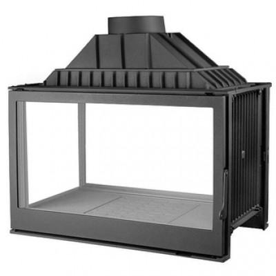 L9 DF + 1 боковое стекло, черная (Liseo)