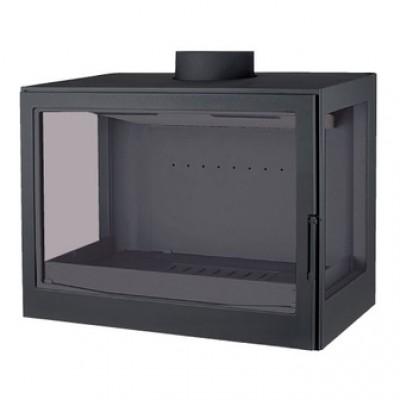 K7 RL, два боковых стекла, черная (Liseo)