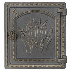 Дверка печная ДТ-4 (бронза)