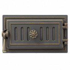 Дверка поддувальная 236 (бронза) 140x275 мм