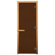 Дверь бронза матовая (ЛИСТВА)