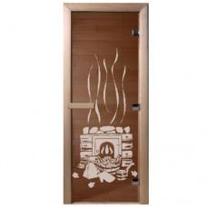 """Дверь бронза """"Банный день"""""""