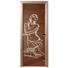 """Дверь бронза """"Искушение"""""""