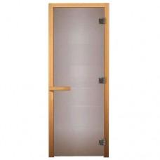 Дверь сатин матовая (ЛИСТВА)