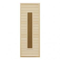 Дверь банная 180*70 застеклённая