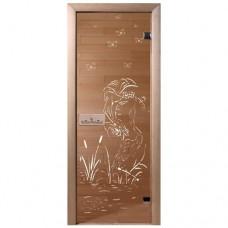 """Дверь бронза """"Камышовый рай"""""""