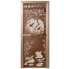 """Дверь бронза """"Лебединое озеро"""""""
