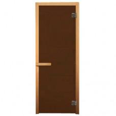 Дверь бронза матовая (2 петли, ХВОЯ)