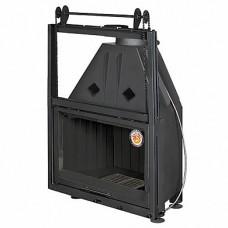 АЛЬФА 800КВ с контргрузом черный шамот