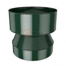 Конус-дефлектор 130/200 мм. зеленый (6005)