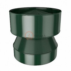 Конус-дефлектор 115/180 мм. зеленый (6005)