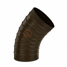 """Сэндвич-отвод 115/180 мм. 45"""" коричневый (8017)"""