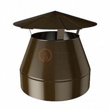 Оголовок-зонт 130/200 мм. коричневый (8017)