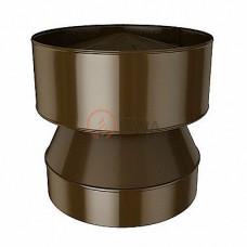 Конус-дефлектор 130/200 мм. коричневый (8017)
