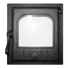 Дверка топочная К402 герметичная, застеклённая