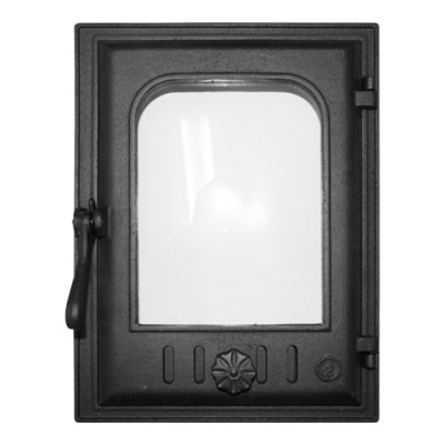 Дверка топочная К403 герметичная, застеклённая