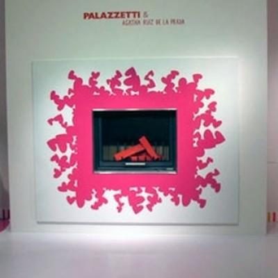 Desiderio, magenta/white, под MBL 78 front (Palazzetti)