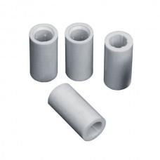 Втулка-изолятор керамическая дистанционная 30*12мм (6 шт+6 саморезов в упак.)