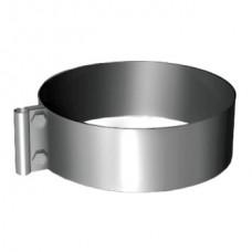 Хомут под молниеотвод на трубу V50R D120/220, нерж 304 (Вулкан)