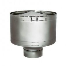 Дефлектор на расш. DHR d160, матов. (Вулкан)